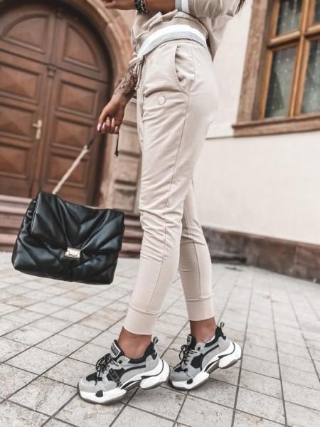 Spodnie MissLui Beżowe